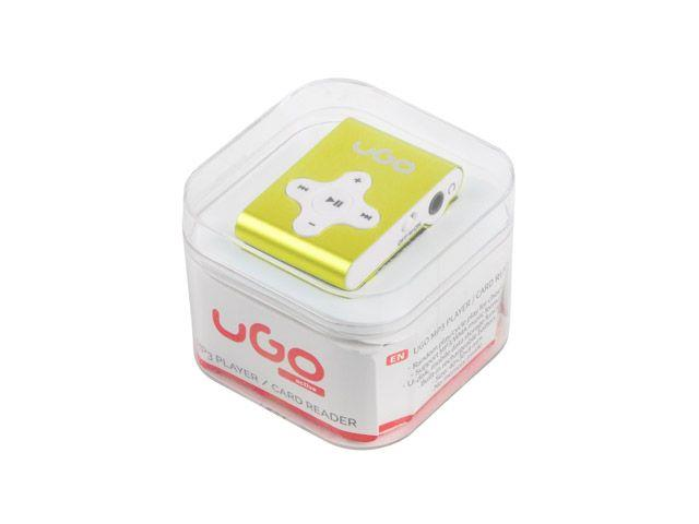UGO MP3 player UMP-1023 (Micro SD) Yellow