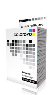 Inkoust COLOROVO 521-BK | Black | 11 ml | čip | Canon CLI-521BK