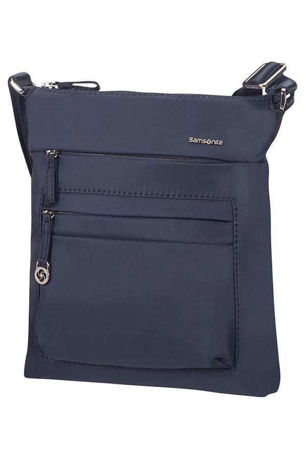 Mini shoulder bag SAMSONITE 88D01128 10,1'' iPAD, pockets, dark blue