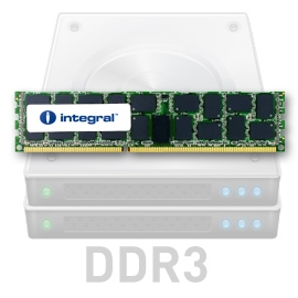 INTEGRAL 8GB 1333MHz DDR3 ECC CL9 R2 Registered DIMM 1.5V