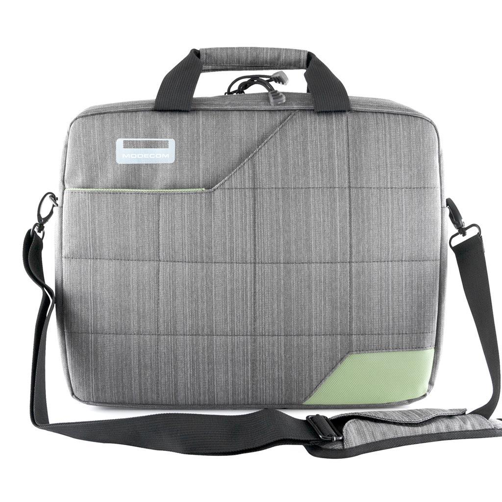 Brašna na notebook Modecom MONTANA 15,6'' (šedo-zelená)