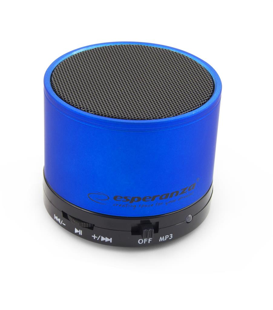 Esperanza EP115B RITMO Bluetooth reproduktor, modrý