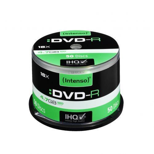 DVD-R Intenso [ cake box 50 | 4.7GB | 16x ]