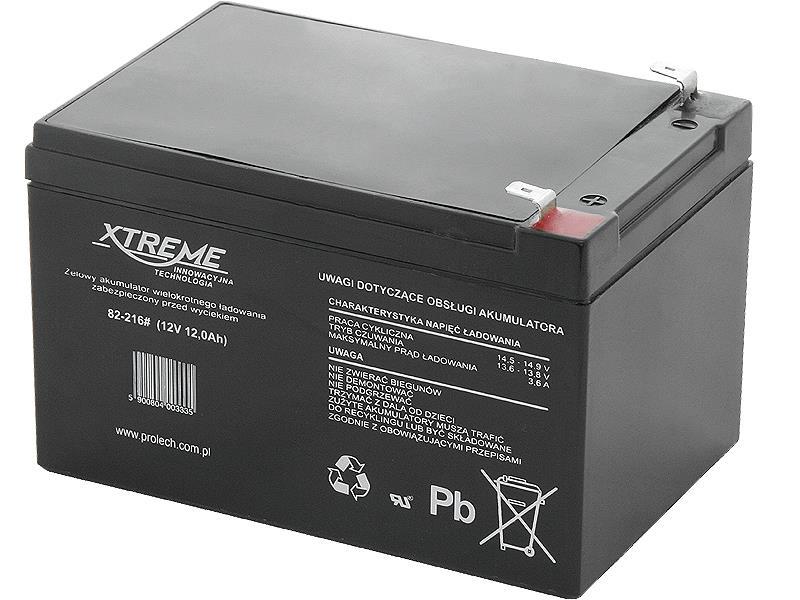 XTREME Nabíjecí gelová baterie 12V 12Ah