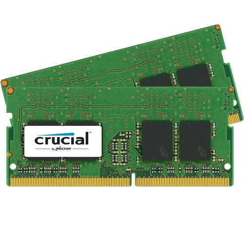 Crucial 2x8GB DDR4 2133 MHZ SODIMM, non-ECC Unbuffered, 1.2V, CL15