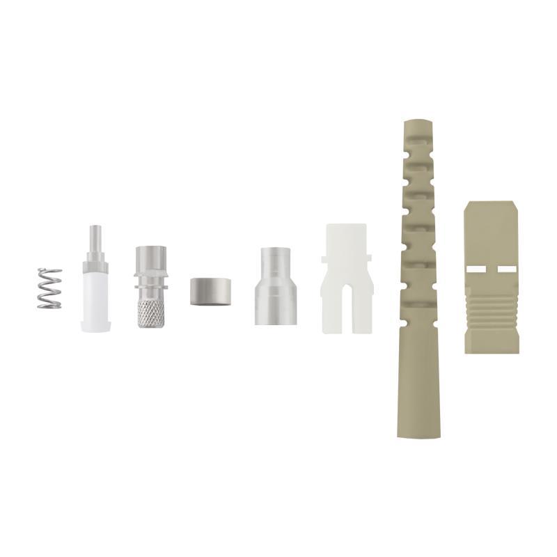 Qoltec Fiber optic connectors SC/UPC | Multimode | 3,0mm