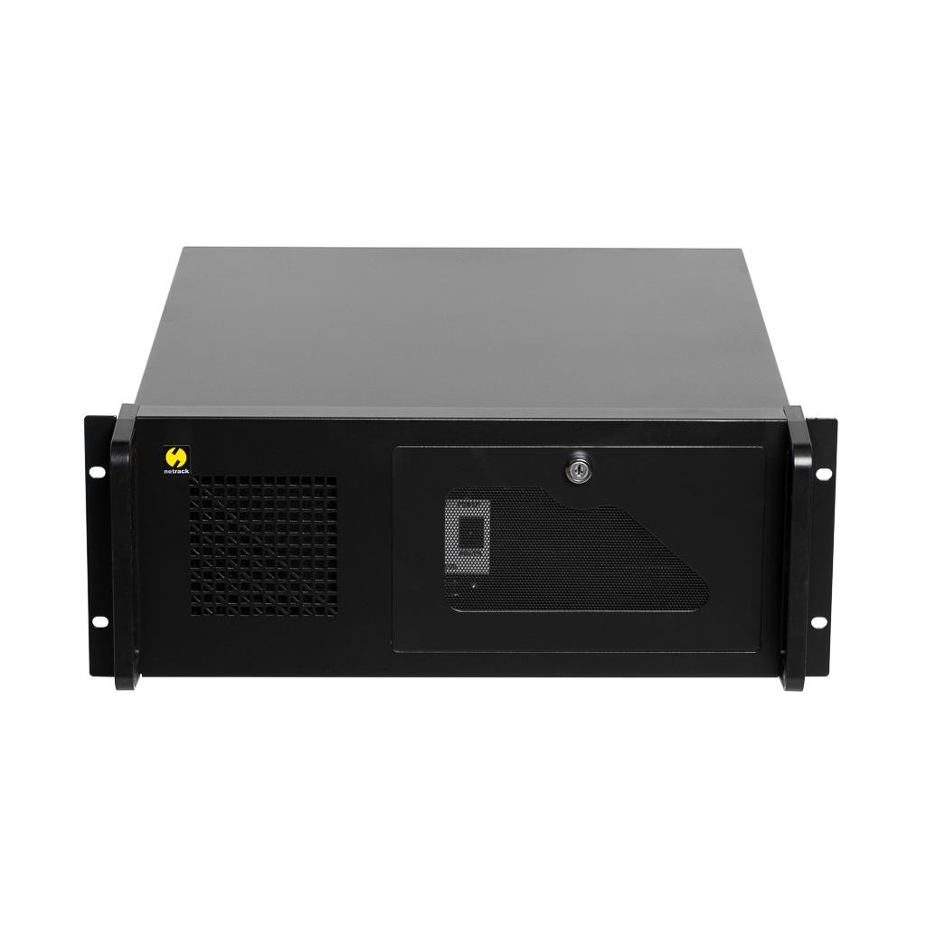 Netrack server case microATX/ATX, 482*177*450mm, 4U, rack 19''