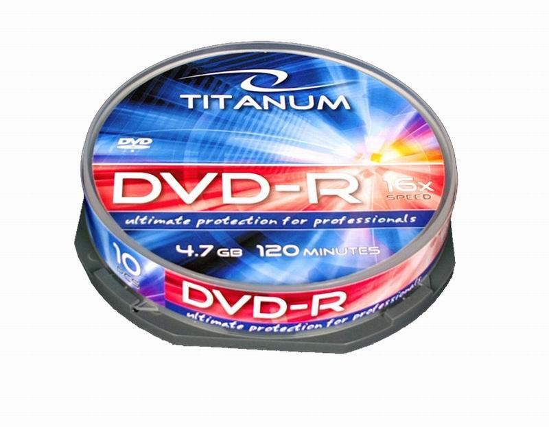 Titanum DVD-R [ cake box 10 | 4.7GB | 16x ]
