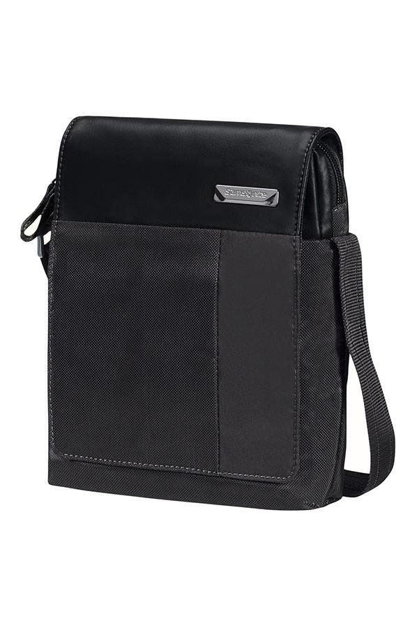 Crossover SAMSONITE 49D09002 HIP-TECH 7.9''+FLAP tblt, pockets, black