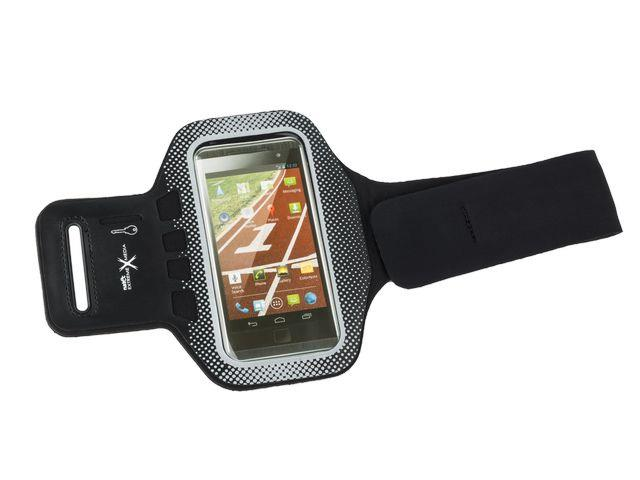 Natec Extreme Media X5 Sportovní pouzdro na ruku pro smartphony, černé