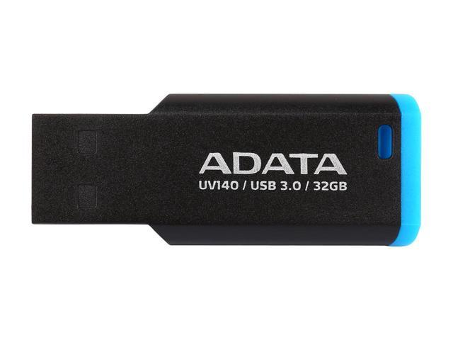ADATA flashdisk UV140, 32GB, USB 3.0, černá a modrá