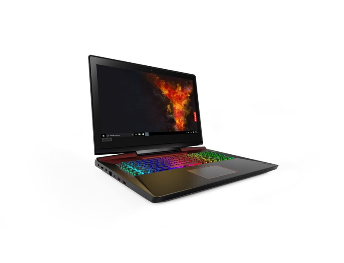 "Lenovo Legion Y920 i7-7700HQ 3,80GHz/16GB/SSD 256GB+HDD 2TB/17,3"" FHD/IPS/AG/GeForce 8GB/ext. DVD-RW/WIN10 80YW000LCK"