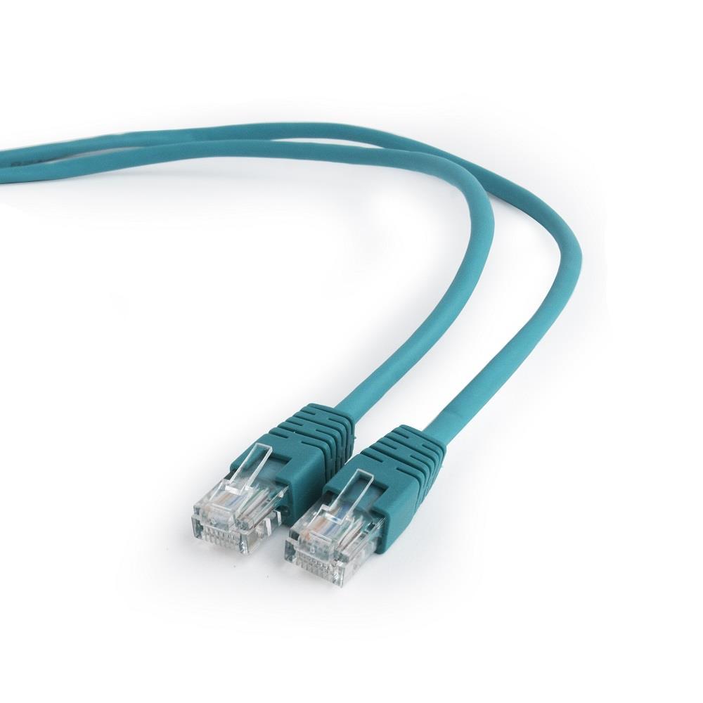 Gembird Patch kabel RJ45, cat. 5e, UTP, 0.5m, zelený