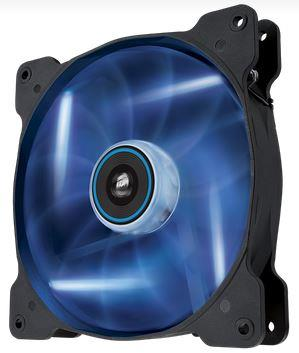Corsair Air Series AF140 LED Blue Quiet Edition, 140mm vent., 25dBA, Single pack
