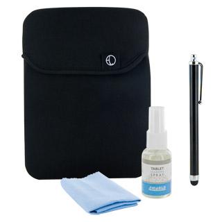4World SADA pro tablety 10.1'' | black rukáv | stylus | čistší 30ml | hadřík