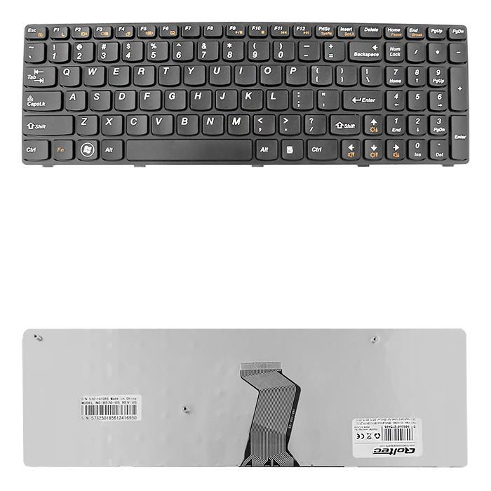 Qoltec Klávesnice pro notebook IBM/Lenovo B570 B575 Z570