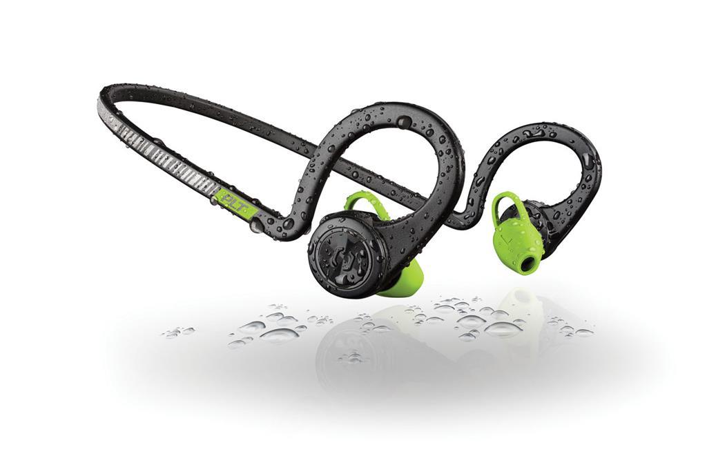 PLANTRONICS stereo Bluetooth Headset Backbeat FIT, IP57, černá