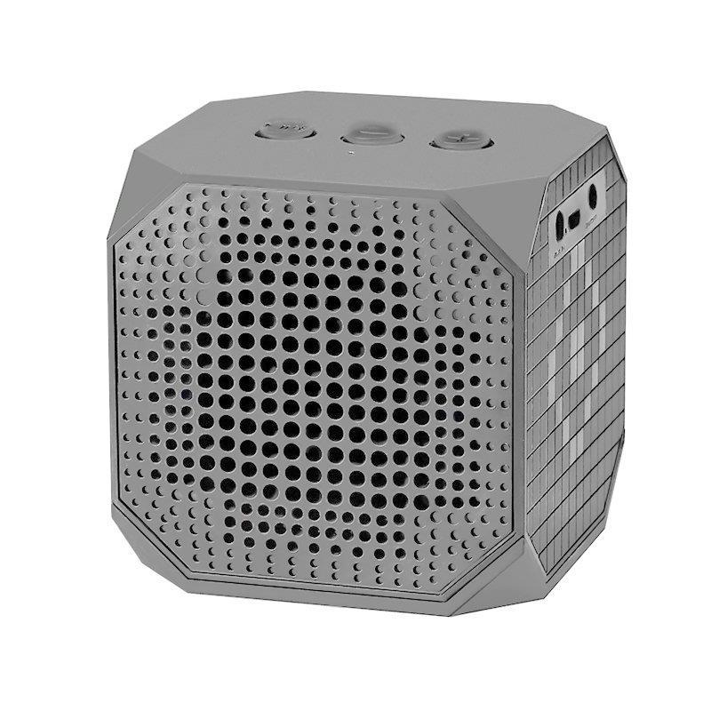 Speaker Qoltec   3W   Double speaker   Bluetooth   gray