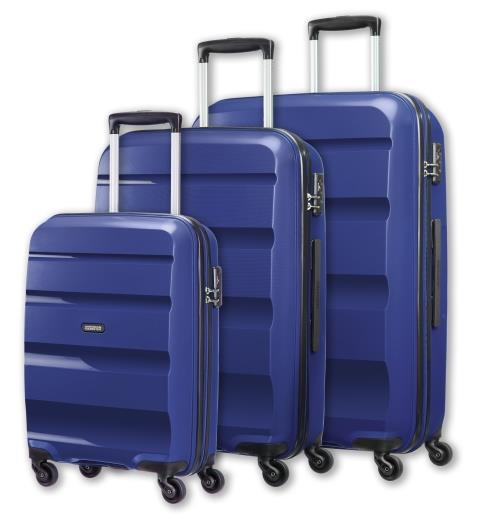 Spinner American Tourister 85A41004 BonAir 3 pcs. set S,M,L 4wheels, navy blue