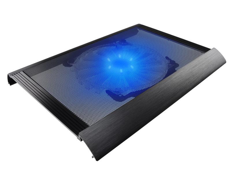 Tracer Chilly chladicí podložka pod notebook, hliník, 20cm ventilátor