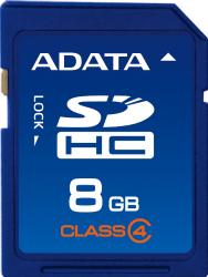 ADATA SDHC karta 8GB Class 4