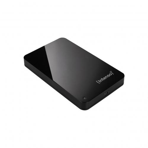 Intenso 2.5'' externý disk MemoryStation 500GB, USB 2.0, černý