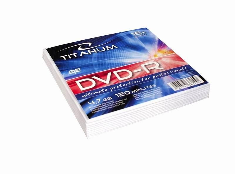 Titanum DVD-R [ obálka 10 | 4.7GB | 16x ]