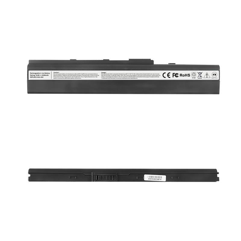 Qoltec Long Life baterie pro notebooky Asus A32-K52 X42, 10.8-11.1V | 4400mAh