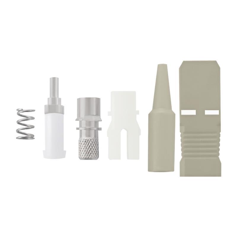 Qoltec Fiber optic connectors SC/UPC | Multimode | 0,9mm
