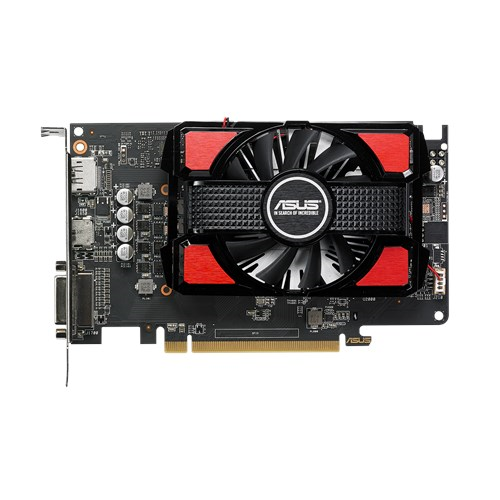 ASUS Radeon RX 550-2G, 2GB GDDR5, HDMI, DVI, DP