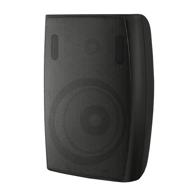 Qoltec SUPER BASS TWO WAY WALL SPEAKER| RMS 20W | 21cm | 8 Om | TRAFO | black