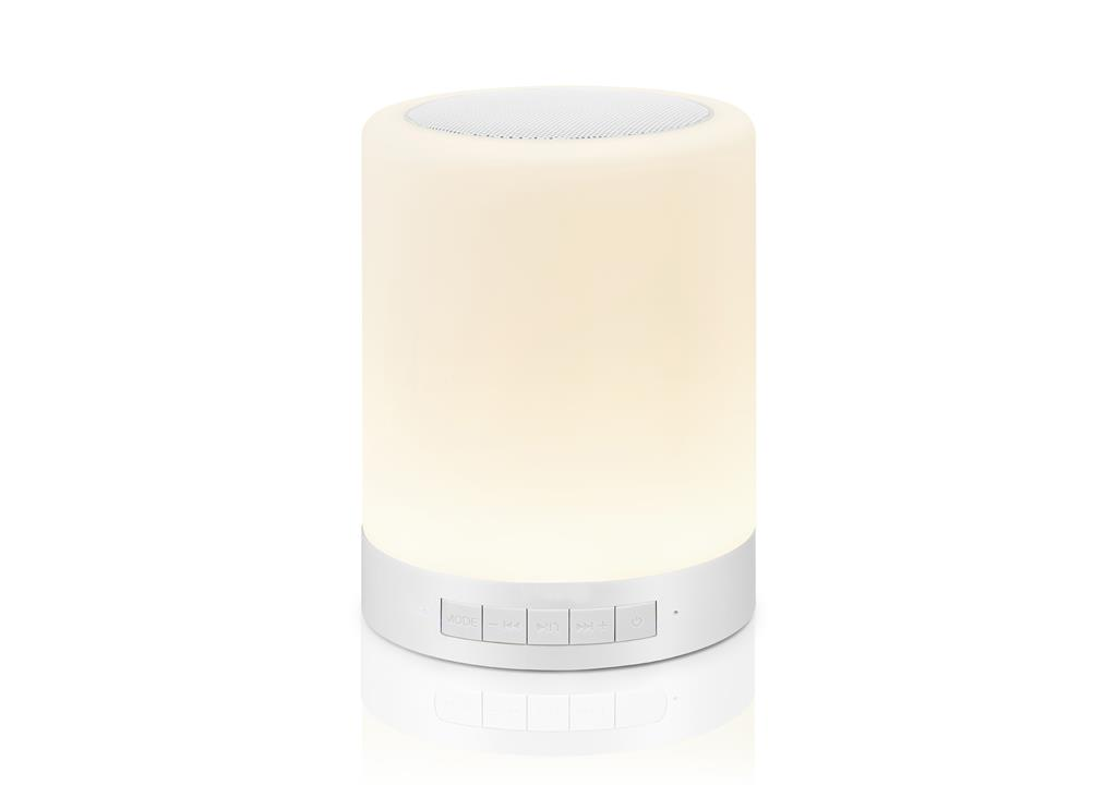 LIGHTBOX BT TOUCH - Bluetooth Speaker with Touch Multicolor Lamp & MP3 Player