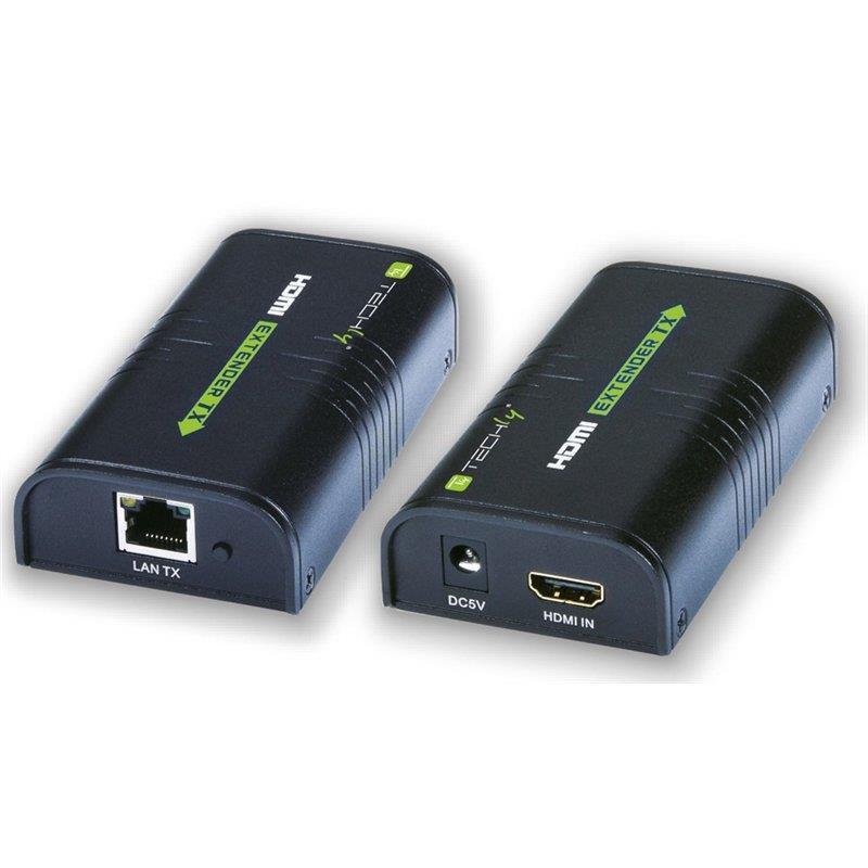 Techly HDMI extender / splitter over IP, max. 120m