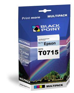 Ink Black Point BPET0715   CMYK   4*11 ml   Epson T0715