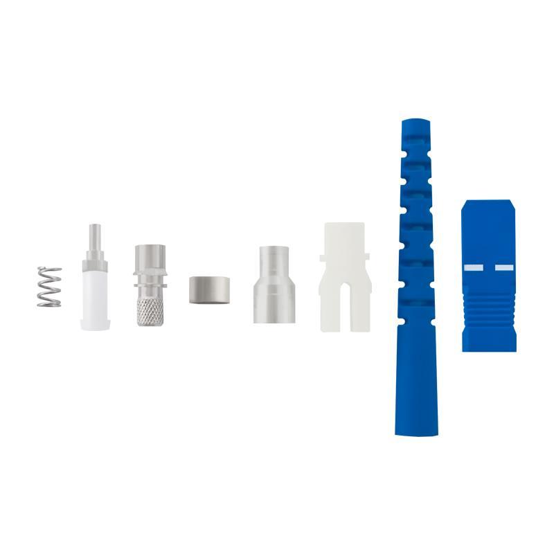 Qoltec Fiber optic connectors SC/UPC | Singlemode | 3,0mm