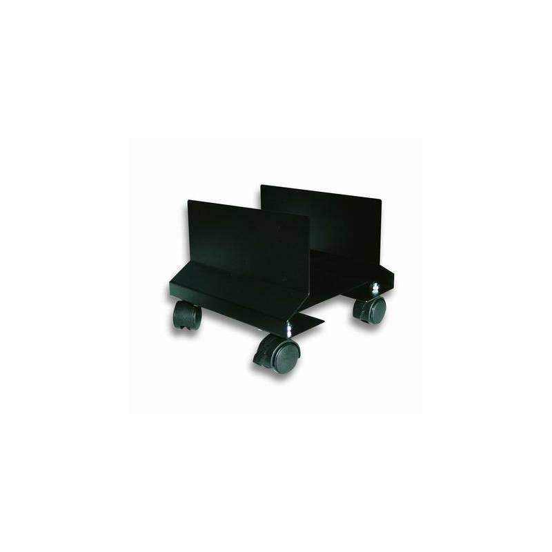 Techly vozík pod PC, nastavitelný, kovový, černý