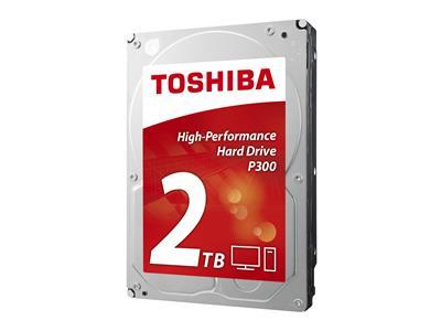 Toshiba P300 HDD 3.5'', 2TB, SATA/600, 64MB cache, 7200RPM