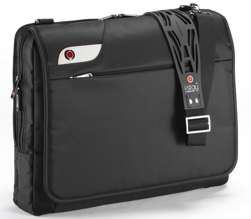 I-stay Launch Laptop Messenger Case 15.6'' black
