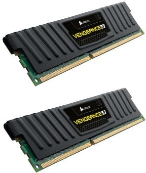 Corsair Vengeance 16GB (Kit 2x8GB) Low Profile 1600MHz DDR3 CL10, chladič, XMP