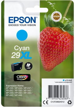 Inkoust Epson Singlepack Cyan 29 Claria Home Ink XL 6,4 ml