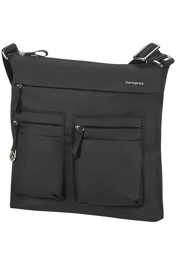 Flat shoulder bag SAMSONITE 88D09129 10,1'' iPAD, pockets, black