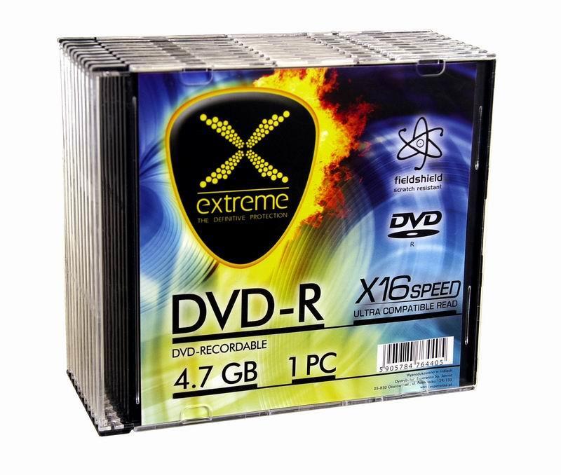 Extreme DVD-R [ slim jewel case 10 | 4.7GB | 16x ]