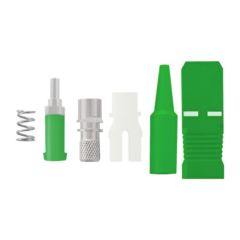 Qoltec Fiber optic connectors SC/APC | Singlemode | 0,9mm