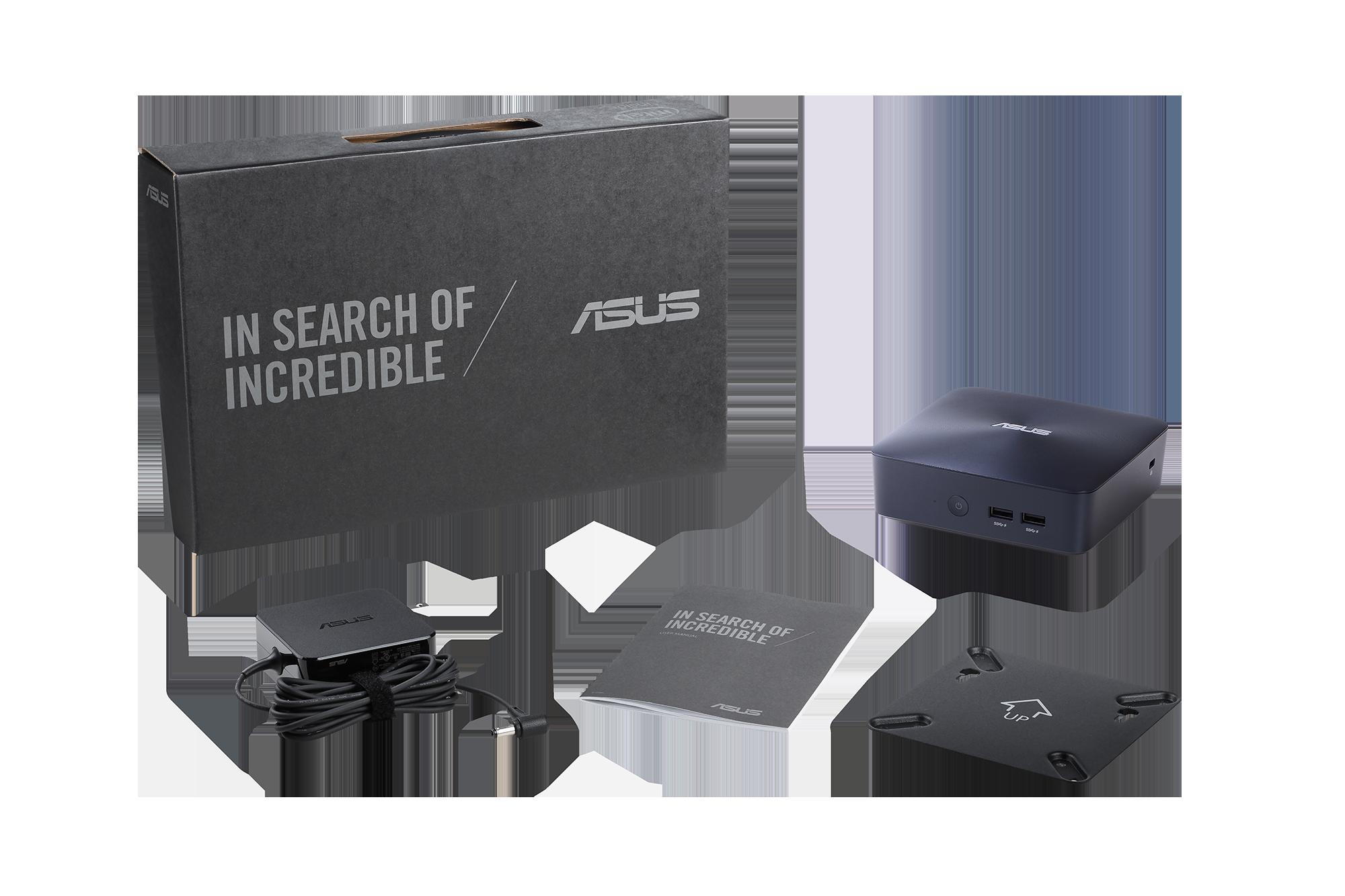ASUS UN65U i7-7500U/2,7GHz/4GB DDR4/128GB SSD/HDMI/DP/2x USB 3.1/VESA/Bez OS /CSM