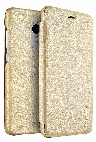 Lenuo Ledream pouzdro pro Xiaomi Redmi Note 4 Global zlaté