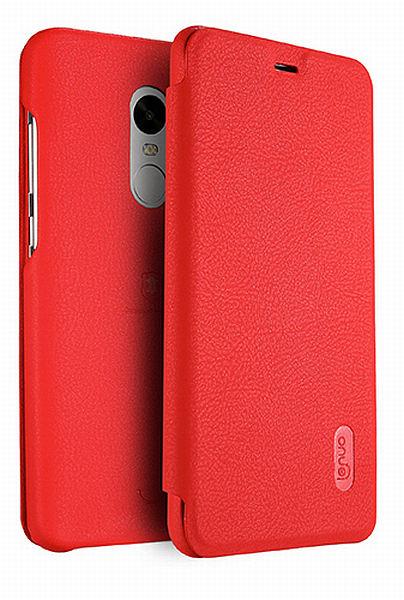 Lenuo Ledream pouzdro pro Xiaomi Redmi Note 4 Global červené