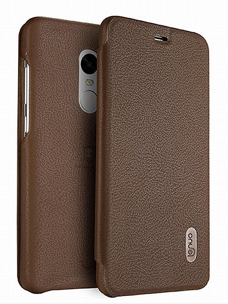 Lenuo Ledream pouzdro pro Xiaomi Redmi Note 4 Global hnědé