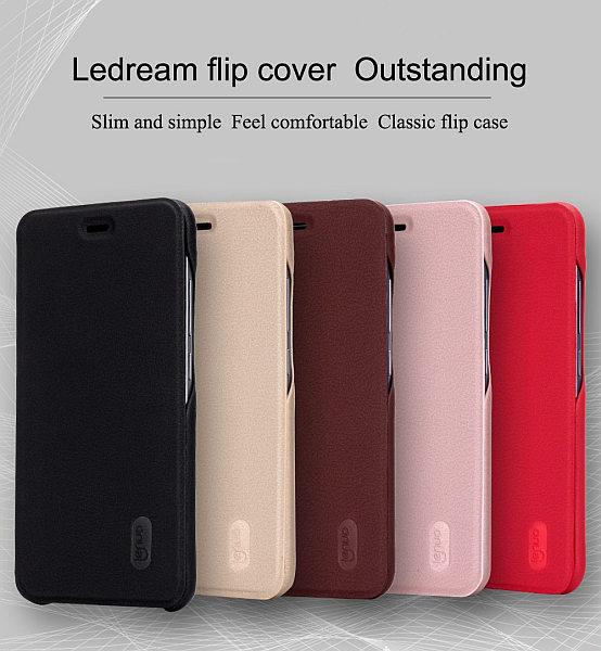 Lenuo Ledream pouzdro pro Xiaomi Redmi Note 5A Prime hnědé