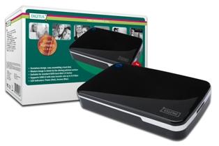 2.5'' externí rámeček Digitus pro SATA disky, USB 3.0, 5 LGW