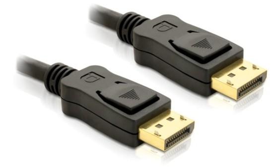 Delock kabel DisplayPort samec na Displayport samec, délka 5m